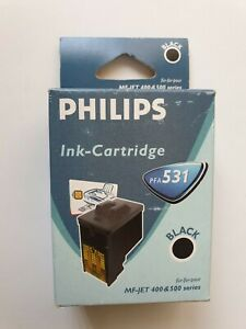 Genuine Philips PFA 531 Black Ink Cartridge For MF-JET 400 & 500 Series Original