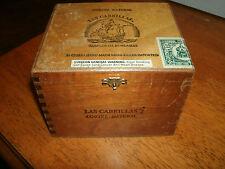 Las Cabrillas Cortez Natural Wooden Cigar Box