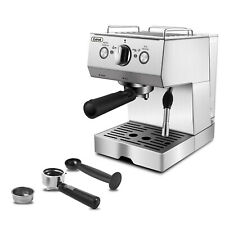 Gevi Stainless Steel Espresso Machine Cappuccino Latte Maker With Milk Frother
