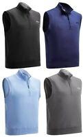 Callaway French Terry 1/4 Zip Fleece Vest Sleeveless Pullover RRP£55
