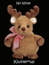 "Bearington Bear Plush Doll Stout Sprouts-Doeball the Moose #198040 9"" High Nwt"