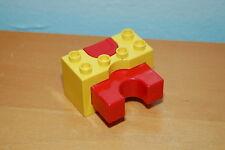 Lego Duplo Car Pusher Yellow Red
