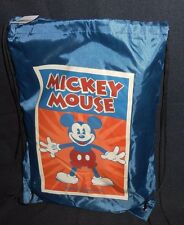 DISNEY WORLD PARK MERCHANDISE MICKEY MOUSE THROW BLANKET & TOTE BAG BACKPACK