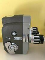 MOVIE CAMERA Sekonic Elmatic 8 Movie Camera With Case video Camera