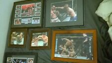 ufc signed photo collection