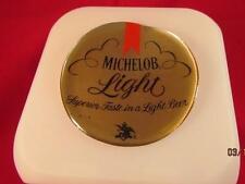 MICHELOB LIGHT BEER CUBE DIGITAL DATE ALARM CLOCK TEMPERATURE COLOR NEW