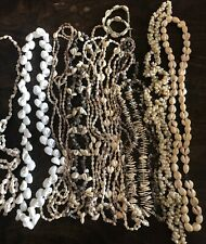 Natural Shell Necklaces Lot