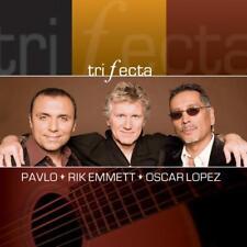 Pavlo Rik Emmett & Oscar Lopez - Trifecta NEW CD