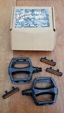 Savage / Wellgo BMX / MTB pedals 9/16. Black. New
