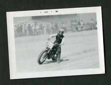 Flat Track Motorcycle Racing Motion Vintage 1968 Photo 466180
