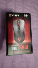 MSI GAMING MOUSE CLUTCH GM10 PC UP TO 2400 DPI OPTICAL SENSOR