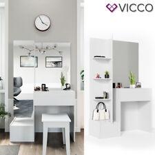 VICCO Schminktisch Gloria Weiß hochglanz Frisierkommode Frisiertisch Spiegel