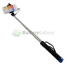 "Blue 30"" Selfie Stick for ZTE Axon 7 Blade V8 X Max Grand X X3 X4 Zmax Imperial"
