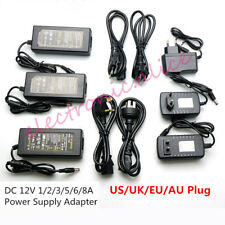 AC110 220V Power Supply Adapter Transformer LED Strip 2A 3A 5A 8A DC 5V 12V 24V