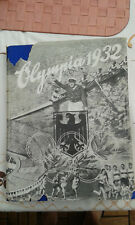 Olympia 1932   Sammelbilderalbum  komplett
