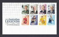 AFD1336) Australia 2012 Australian Legends of Football FDC