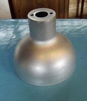 Ancien Abat Jour Suspension Lustre Deco Industriel métal gris vintage