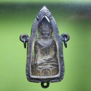 PERFECT! PHRAHOOYAN OLD THAI BUDDHA AMULET PENDANT VERY RARE !!!