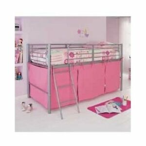 Pink Tent For Mid Sleeper Bed Girls Bedroom Midsleeper Storage - New