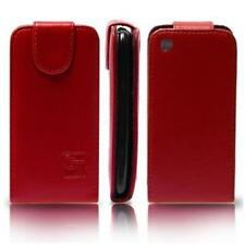Case in Eco-friendly Leather Red for LG GD510