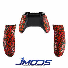 Xbox One Personalizado Mando De goma Empuñadura Trasero Asas (Rojo)