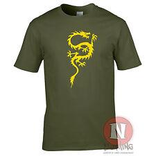 CHINESE DRAGON cool oriental asian kung fu T-shirt martial arts China Korea
