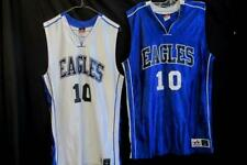 Lot of 2 Multicolored Eagles Jersey's #10 Size Medium By Alleson Athletics