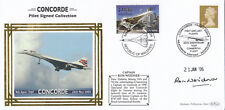 (08233) CLEARANCE GB/Maldives Benham Cover Concorde Capt Signed Ron Weidner 2003