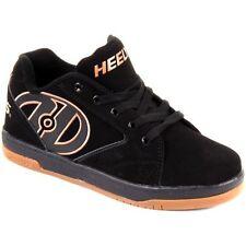 Scarpe sneakers nera in gomma per bambini dai 2 ai 16 anni