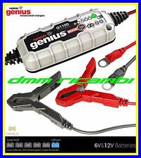 Carica Batterie NOCO GENIUS G1100 2.0 CANBUS MOTO mantenitore 6/12V 1.1A 40AH