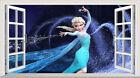Frozen Magic Window Image Wall Art Self Adhesive Vinyl Sticker Mural Poster V18*
