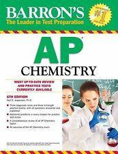 Barron's AP Chemistry, 6th Edition