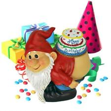 Happy Birthday Moonie Bare Bottom Party Gnome Elf Statue
