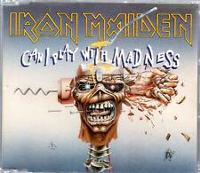 Iron Maiden Can I Play With Madness Black Bart UK 3 Track CD Single CDEM 49 1988