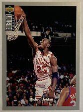 Michael Jordan 1994 Upper Deck Collectors Choice #240 RARE Silver Signature 🔥