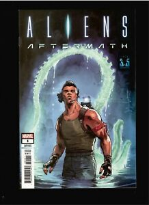 ALIENS AFTERMATH #1  DAVE WATCHER 1:25 VARIANT  NM  2021      COMIC KINGS