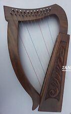 Irish Arpa 12 corde, Sheesham legno + Gratis Borsa & ottimizzazione CHIAVE
