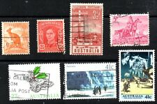 stamps Australia A24 A39 A80 A119 A358 A417 A421 Lot