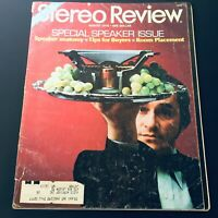 VTG Stereo Review Magazine August 1976 - Speaker Anatomy / Room Placement