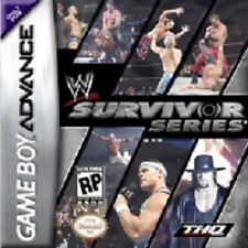 W Survivor Series WWE WWF Nintendo Gameboy Advance Game Boxed Good