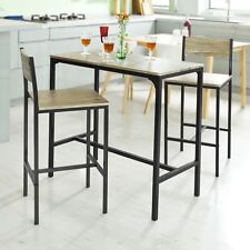 B-Waren SoBuy® Bartisch Set,Stehtisch,Gartenmöbel Set,Balkonmöbel OGT03-Bwaren