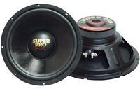 "Pyramid Pro 8 Ohm 10"" 500w Car Audio Subwoofer Driver Sub Bass Speaker BADBOX"