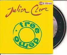 JULIEN CLERC - free demo CD SINGLE 2TR CARDSLEEVE 1993 FRANCE