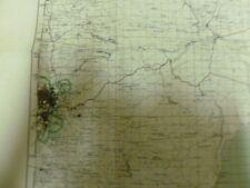 Israel Goverment Jerusalem Map 50*35Cm 50*65 Cm 1955 Israel Rare