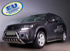 PARE BUFFLE SUZUKI GRAND VITARA  HOMOLOGUE INOX Ø 60mm avec grill