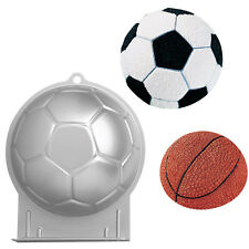 Wilton Football Soccer Novelty Shaped Cake Pan Tin - Sports, Soccer Theme