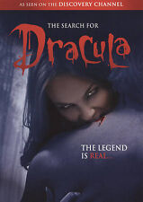 The Search for Dracula (DVD, 2009) vampires  as seen on  discovery channel