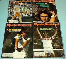 4 Tennis Sports Illustrated Connors Mcenroe