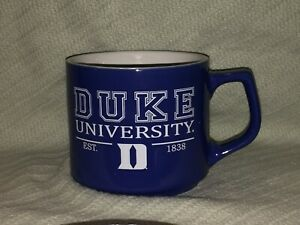 RFSJ, Inc DUKE BLUE DEVILS EST. 1838 Royal Blue Ceramic Julie Fashion Mug 16 oz.