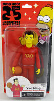 Yao Ming The Simpsons 25 of the Greatest Guest Stars Series 1 Action Figure NIB